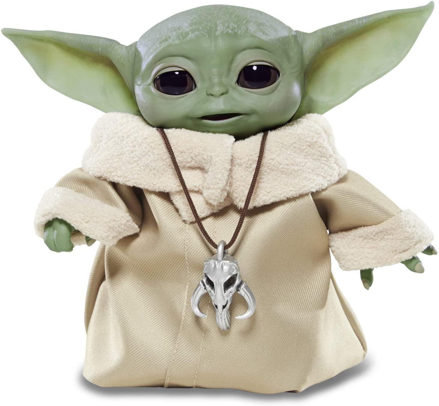 Photo de la figurine Bébé Yoda Interactive