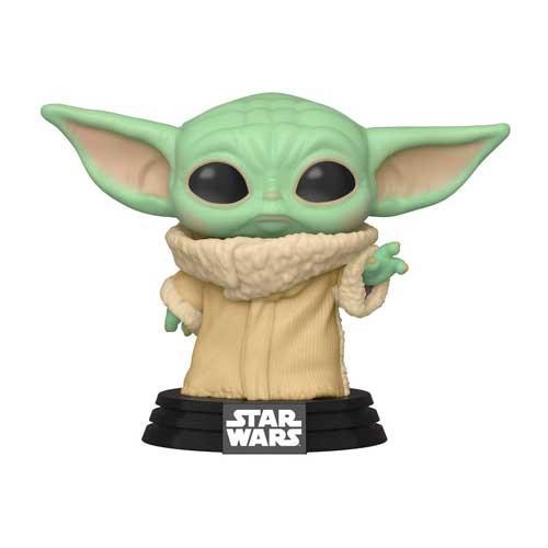 Photo Pop Bébé Yoda utilisant la force
