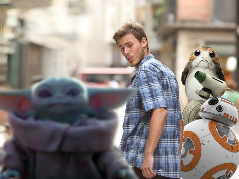 Star Wars et Bébé Yoda meme
